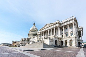 United States Capitol Building From the Senate