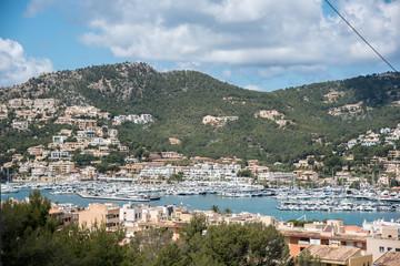 Am Hafen Port Andratx Mallorca