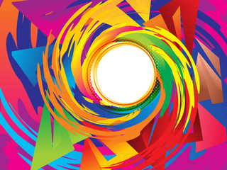abstract artistic creative colorful swril background