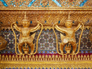 Garuda at Wat Phra Kaew Temple Thailand