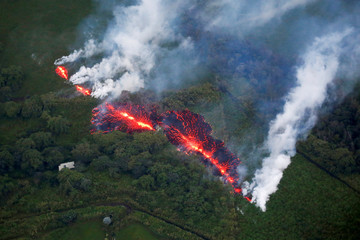 A Picture and its Story: Burning lava, hot ash: Kilauea's human toll