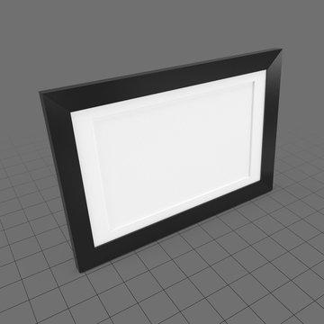 Rectangular photo frame