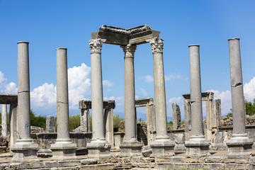 Turkey Antalya Perge ancient city