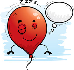 Cartoon Balloon Dreaming