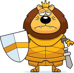 Sad Cartoon Lion King Armor