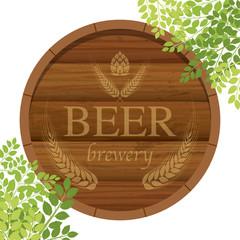 ビール樽 イラスト