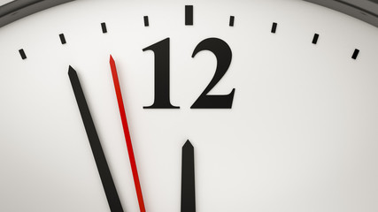 a typical office clock background