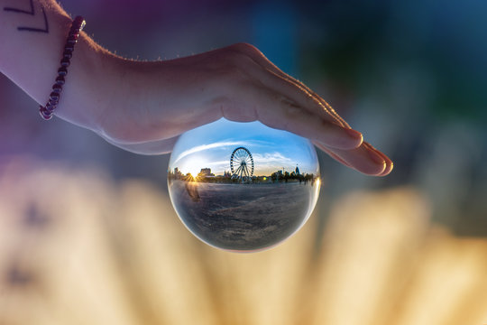 Reflection in Lensball