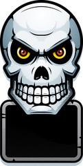 Skull Sign Illustration