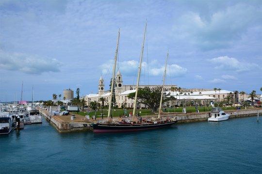 A Bermuda Dockyard
