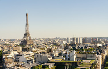 Paris Eiffel Tower, copyspace for your individual text.