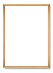 Blank picture frame. Vector template