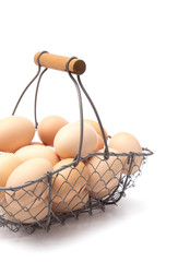 A Basket Full of Fresh Farm Eggs - Don't put all your eggs in one basket