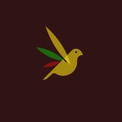 glass bird logo