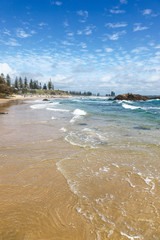Town Beach - Port Macquarie - NSW Australia. Port Macquarie on the NSW mid north coast is a popular retirement and tourist destination.