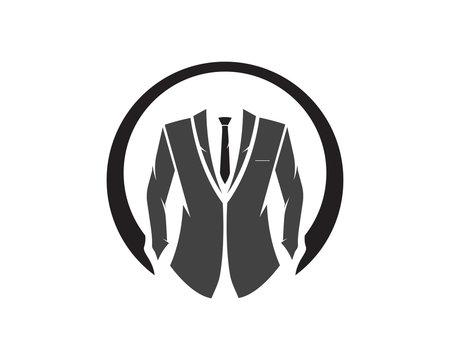 Toxedo Man Logo Vector