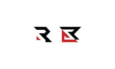 R initial logo