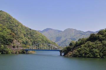 丹沢湖世附大橋風景