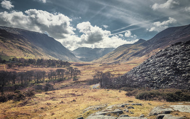 Early Spring in Ogwen Bank