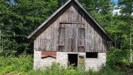 scarry old barn