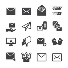 Mail,Letter icon set