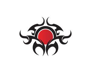 tribal, tatto, collection, set,  flame, tatoo, totem, Vector, Illustration, design