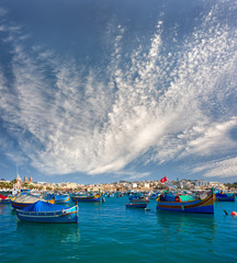 Marsaxlokk harbor