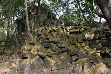 カンボジアのアンコール遺跡群のベンメリア