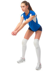 Woman volleyball player (ver without ball)