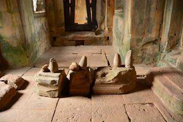カンボジアのアンコール遺跡群のバンテアイサムレ