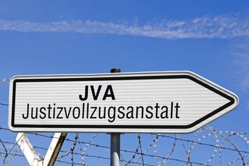 Wegweiser JVA, Justizvollzugsanstalt
