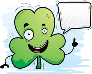 Cartoon Clover Talking
