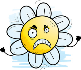 Angry Cartoon Flower