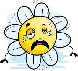 Cartoon Flower Crying