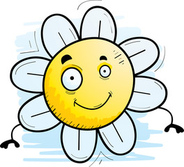 Cartoon Flower Smiling