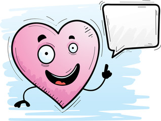 Cartoon Heart Talking