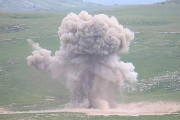 Destroying dangerous explosives
