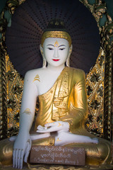 Buddha in Black and Gold