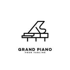 Grand piano logo