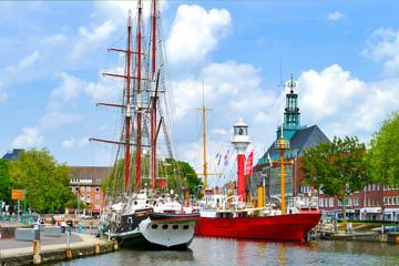 Emden, Hafen, Ostfriesland