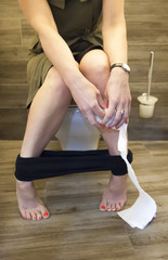 Using Toilet at Home Bowel Movements Hemorrhoids Problem