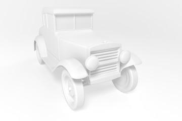 3d old car