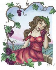 Vineyard Girl