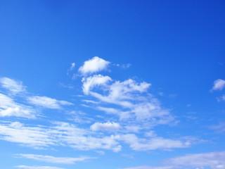 初夏 青空 雲