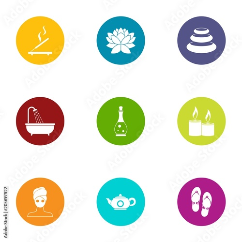 Transformation icons set  Flat set of 9 transformation vector icons