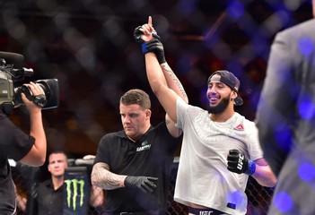 MMA: UFC Fight Night-Cannonier vs Reyes