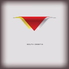 National flag South Ossetia