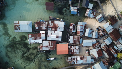 Poor slum at risk from climate change and rising sea levels