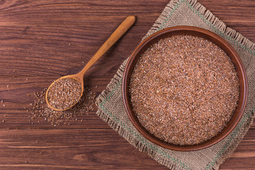 Flax seeds linseed