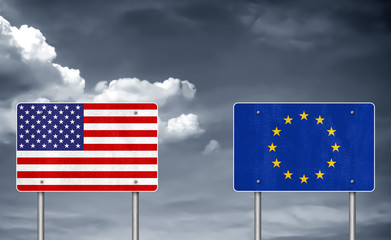 Trade conflict between USA and the European Union - tariff war